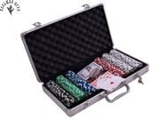Покерный набор Pokerset Alu Case 300 Dice 11.5gram
